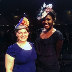 Congratulations to Rebecca Carswell of Amelda Millinery the winner ofhellip