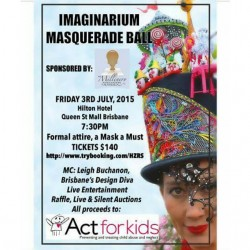 Tickets are available for the Imaginarium Masquerade Ball at thehellip