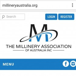 Check out our new look website! wwwmillineryaustraliaorg Design by Kathellip