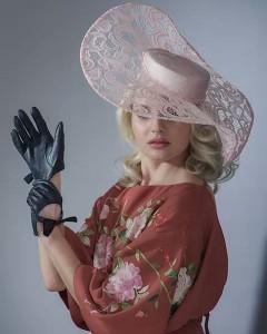 Hat of the week Milliner anabellamillinery Model Joanna Szychowska Photographerhellip