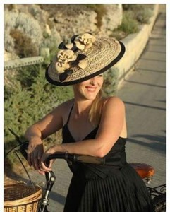 Hat of the Week Name of BrandMilliner amandalynmilliner Model Cindyhellip