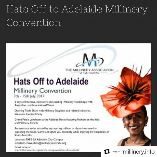 Repost millineryinfo getrepost ??? Podcast Release  hatsoffmillineryconvention hosted byhellip